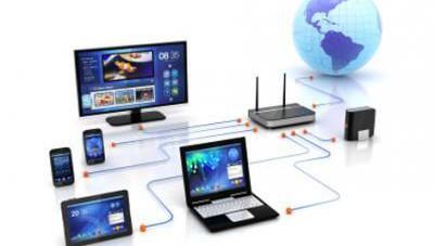 Netzwerk, Netzwerk einrichten, PC Netzwerke, Glasfaser ins Haus